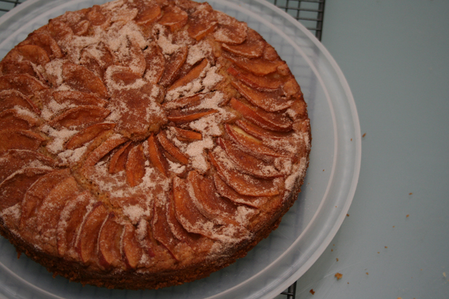 Cinnamon Apple Cake 02