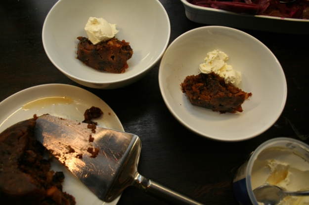Christmas Baking - Pudding 02